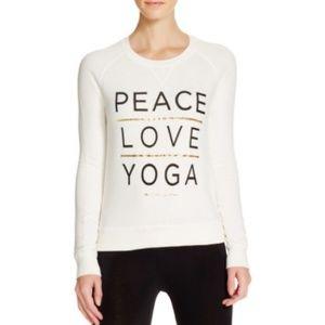 SPIRITUAL GANGSTER Yoga sweatshirt